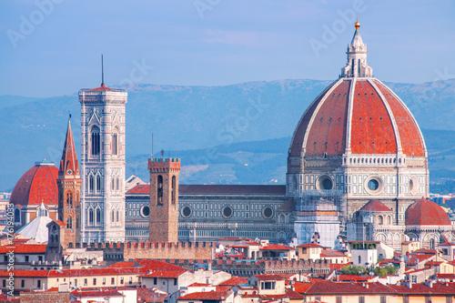Obraz na dibondzie (fotoboard) Katedra Duomo we Florencji