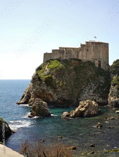 Foto op Aluminium Vestingwerk Fort Lovrijenac in Dubrovnik. Croatia