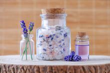Lavender Salt And Essential Oi...