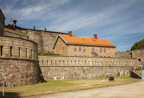 Tuinposter Vestingwerk Carlsten fort Sweden