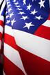 Flag of the United States.Studio shot