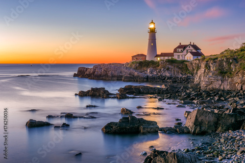 Photo sur Toile Phare Portland Head Light