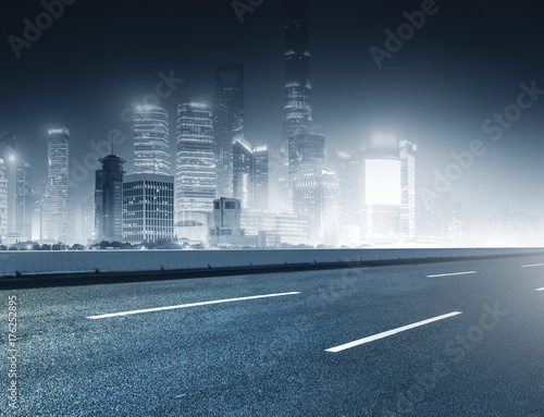 Plakat Architektura miejska i drogi