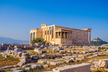 Erechtheion Temple In Athens D...