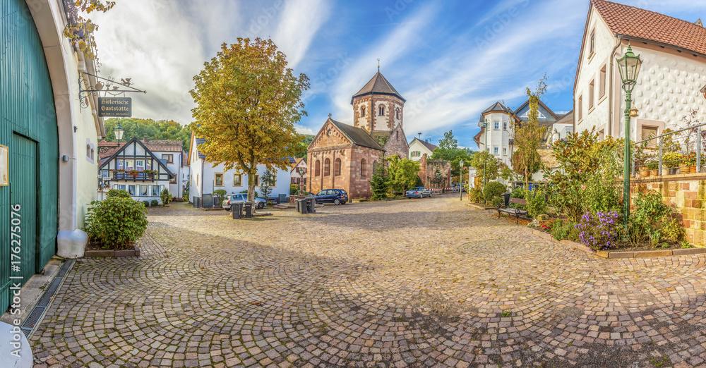Fototapety, obrazy: Zentrum von Bad Dürkheim