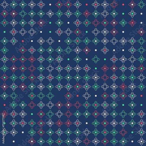 Plakat Piękny wzór geometryczny wzór