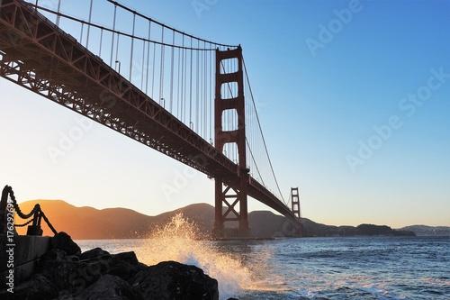 Golden Gate bridge Plakát