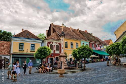Fotografie, Obraz  Szentendre, Stadtzentrum