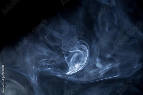 Fototapeta Streszczenie tło z kształtów graficznych. kolor i dym