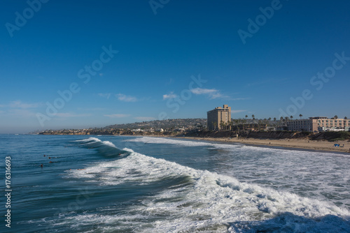 Pacific Beach Coastline 2 Poster