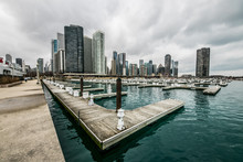 Chicago Piers And Docks