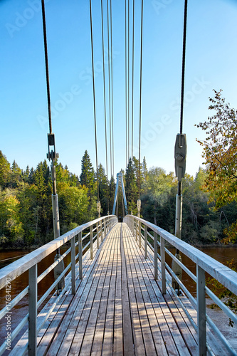 Cable-stayed bridge in Sigulda