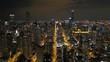 Aerial Illinois Chicago July 2017 Night 4K Inspire 2