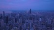 Aerial Illinois Chicago July 2017 Sunrise 4K Inspire 2
