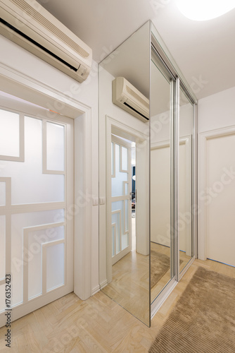 Apartment Interior   Entrance, Closet Area
