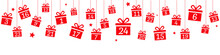 Advent Calendar With Hanging R...