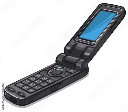 old vintage cellphone
