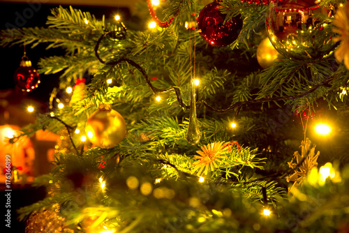 Fotografie, Obraz Weihnachtsbaum