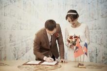 Wedding Registration Bride And...