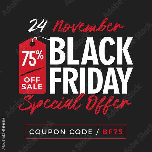 da98e5ea56b Black Friday Super Sale Promotion with Price Tag Element Inscription Design  Template Banner