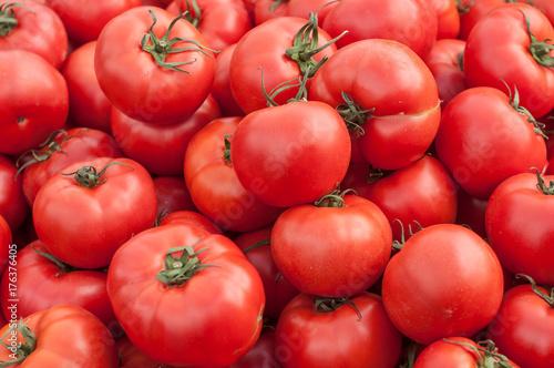 tomates bio au marché © pixarno