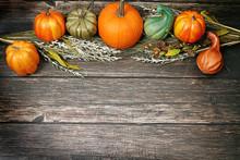 Thanksgiving Fall Pumpkins