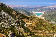 Dikti Mountains In Crete, Greece