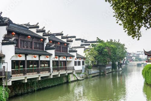 Fotografie, Tablou  old building in nanjing