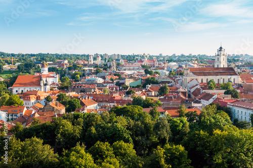 Fototapeta Traditional Cathedral building in Vilnius, Lithuanian obraz na płótnie