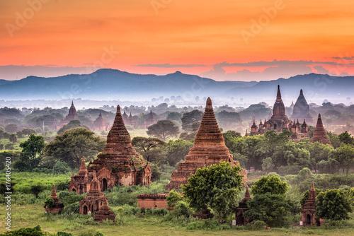 Photo Bagan, Myanmar Temples