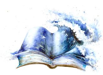 Naklejka book