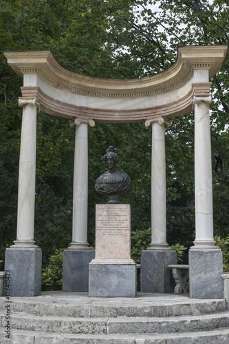 Fotografia, Obraz  Monumento en el Parque de El Capricho (Madrid)