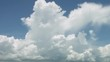 Timelapse cumulonimbus clouds