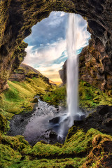Plakat Waterfall in Iceland