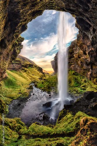 Fotomural Waterfall in Iceland
