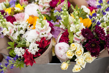 Colourful Spring Bouquets