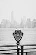 Vintage Binoculars in Liberty Island, New York