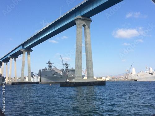 Canvas Prints Bridge San Diego California
