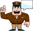 Cartoon Captain Talking