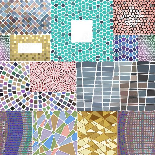 mozaiki-dekoracja-obramia-patchworku-tradycyjnego-projekta-ornamentu-geometrycznego-elementu-tla-wektoru-elegancka-ilustracje