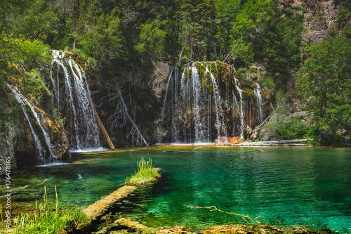 Plakat Wiszące Wodospady Jeziora