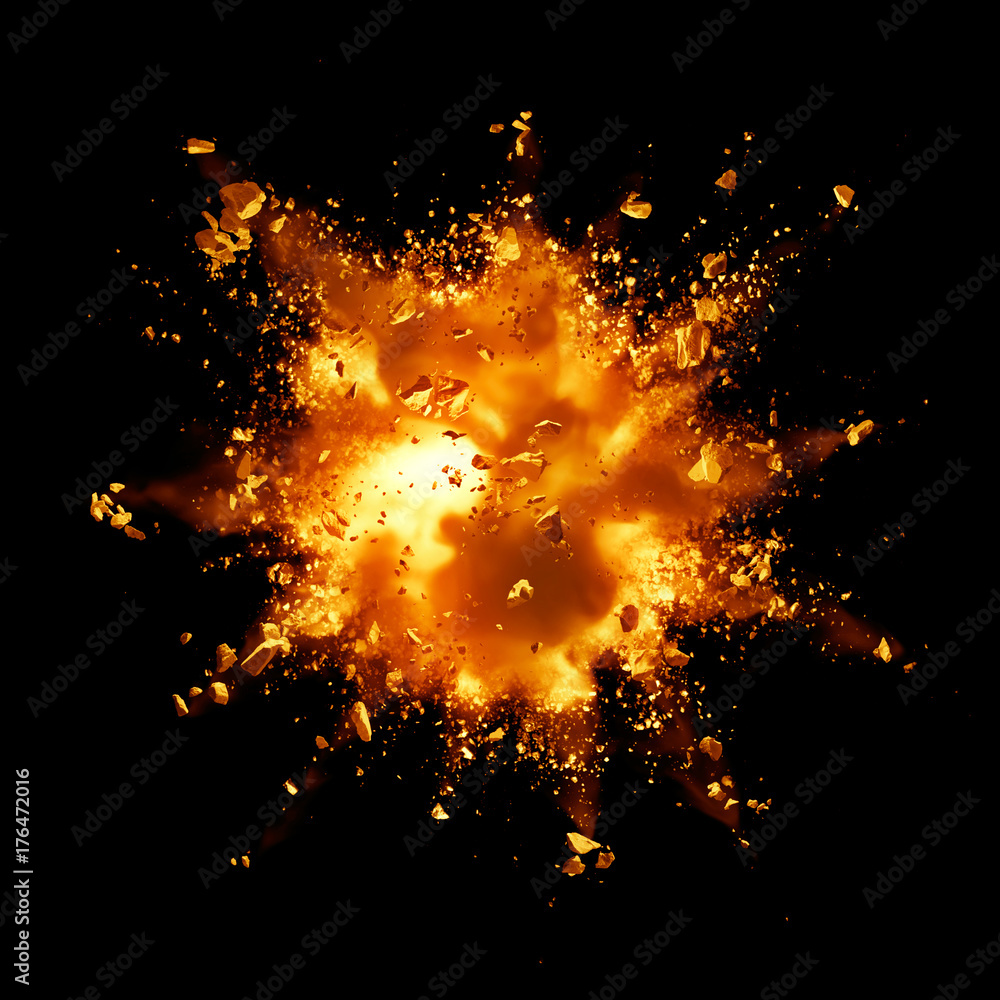 Fototapety, obrazy: fire explosion