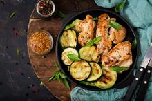 Chicken Fillet With Zucchini C...
