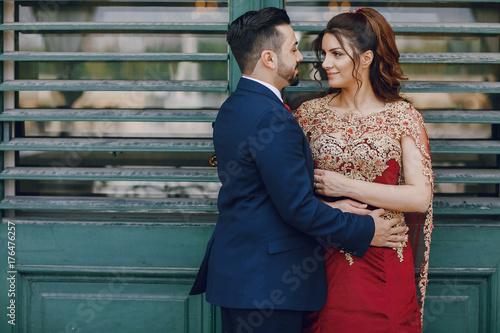 Photo  Turkish couple