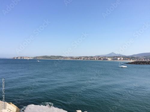 La inmensidad del mar cantábrico en Euskadi