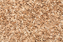 Heap Of Wood Chips Macro Shot, Abstract Texture