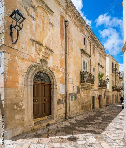 Scenic sight in Altamura, province of Bari, Puglia, southern Italy Wallpaper Mural