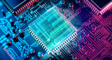 Circuit Board. Electronic Comp...