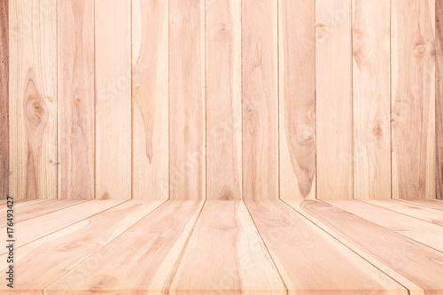 Fototapeta Wood texture background,wood floor agent wood wall for design obraz na płótnie