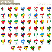 Vector Flag Collection Of Afri...